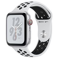 Apple Watch Nike+ GPS/Cellular 40mm Silver Aluminum Smartwatch - Pure Platinum/Black Nike Sport Band