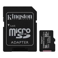 Kingston 32GB Canvas Select Plus MicroSDHC Class 10/ UHS-1 Flash Memory Card w/ Adapter