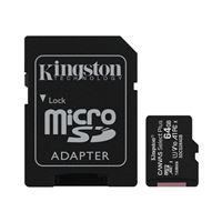 Kingston 64GB Canvas Select Plus MicroSDHC Class 10/ UHS-1 Flash Memory Card w/ Adapter