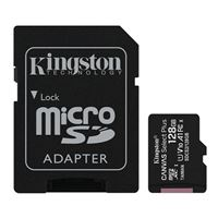 Kingston 128GB Canvas Select Plus MicroSDHC Class 10/ UHS-1 Flash Memory Card w/ Adapter