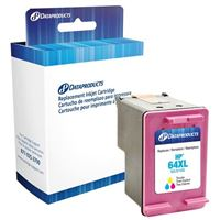 Dataproducts Remanufactured HP 64XL High Yield Tri-color Ink Cartridge