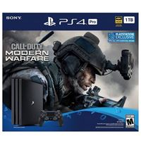 Sony PlayStation 4 Pro 1TB Call of Duty Modern Warfare Bundle