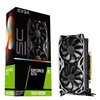 EVGA GeForce GTX 1660 Super SC Ultra Overclocked Dual-Fan 6GB GDDR6 PCIe 3.0 Graphics Card