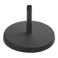 On-Stage Stands Desktop Microphone Stand (Black)
