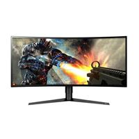 "LG 34GK950F-B 34"" WQHD 144Hz HDMI DP FreeSync HDR Curved IPS LED Gaming Monitor"