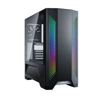 Lian Li Lancool II Tempered Glass eATX Full Tower Computer Case - Black