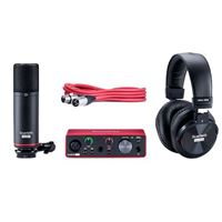 Focusrite Scarlett Studio Solo (3rd Gen) USB Audio Interface Kit