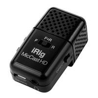 IK Multimedia iRig Mic Cast HD Condenser Microphone