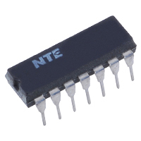 NTE Electronics Integrated Circuit Low Power Schottky Quad 2-input Positive And Gate 14-lead DIP