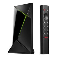 NVIDIA SHIELD Android TV Pro 4K HDR Streaming Media Player - High Performance, Dolby Vision, 3GB RAM, 2 x USB, Google Assistant built-in, Works with Alexa