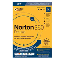 Symantec Norton 360 Deluxe - 5 Devices