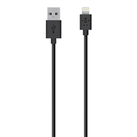 Belkin MIXIT Up Lightning ChargeSync Cable 6.6 ft - Black