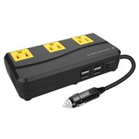 Scosche Industries 200W Portable Power Inverter
