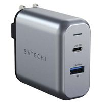Satechi 30W USB Type-A, USB-C Power Delivery Wall Charger - Silver