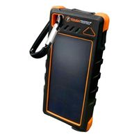 Tough Tested 16,000mAh Solar Power Bank w/ Flashlight