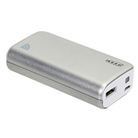 Inland 5,200 USB-A Power Bank - Silver