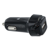 Inland Car Charger w/ 1 x USB Type-A Port - Black