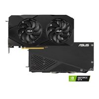 ASUS GeForce GTX 1660 Super Dual Overclocked Dual-Fan 6GB GDDR6 PCIe 3.0 Graphics Card