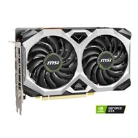 MSI GeForce GTX 1660 Super Ventus XS Overclocked Dual-Fan 6GB GDDR6 PCIe 3.0 Graphics Card