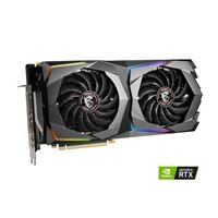 MSI GeForce RTX 2070 Super Gaming X Overclocked Dual-Fan 8GB GDDR6 PCIe 3.0 Graphics Card