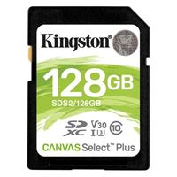 Kingston 128GB Canvas Select Plus SDHC Class 10/ UHS-1 Flash Memory Card