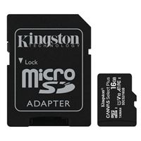 Kingston 16GB Canvas Select Plus MicroSDHC Class 10/ UHS-1 Flash Memory Card w/ Adapter (2 Pack)