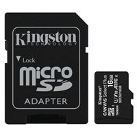 Kingston 16GB Canvas Select Plus MicroSDHC Class 10/ UHS-1 Flash Memory Card w/ Adapter (3 Pack)