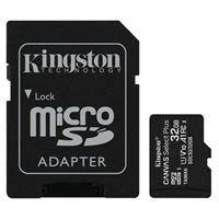 Kingston 32GB Canvas Select Plus MicroSDHC Class 10/ UHS-1 Flash Memory Card w/ Adapter (2 Pack)