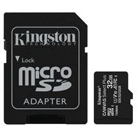 Kingston 32GB Canvas Select Plus MicroSDHC Class 10/ UHS-1 Flash Memory Card w/ Adapter (3 Pack)