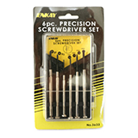 Enkay Products Precision Screwdriver Set - 6 pcs.