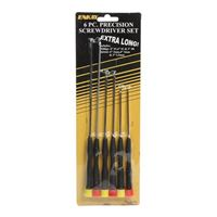 Enkay Products Extra Long Precision Screwdriver Set 6pc