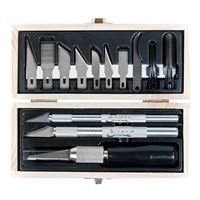 Excel Hobby Blades Professional Knife Set with Wooden Box