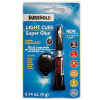 SureHold Light Cure Super Glue