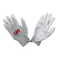 Hakko Palm Coated, ESD Safe Gloves