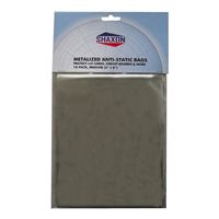 "Shaxon Metalized Antistatic 6"" x 8"" Bags 10 Pack"