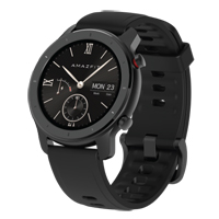 Amazfit GTR GPS 42mm Smartwatch - Starry Black