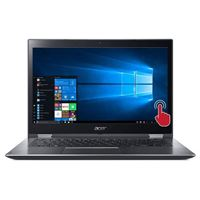 "Acer Spin 3 SP314-52-39AH Touch 14"" 2-in-1 Laptop Computer - Gray"
