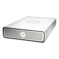 G-Technology 6TB G-DRIVE USB 3.0 Desktop External Hard Drive, Silver -...