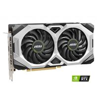 MSI GeForce RTX 2060 Super Ventus GP Overclocked Dual-Fan 8GB GDDR6 PCIe 3.0 Graphics Card
