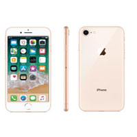 Apple iPhone 8 Unlocked 4G LTE - Gold (New Old Stock) Smartphone