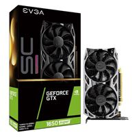 EVGA GeForce GTX 1650 Super SC Ultra Gaming Dual-Fan 4GB GDDR6 PCIe 3.0 Graphics Card