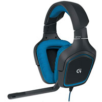 Logitech G G430 Surround Sound Gaming Headset - Blue (Refurbished)