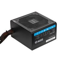 PowerSpec 500W Power Supply 80 Plus Certified Fixed Cable Non-Modular...