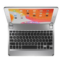 Brydge 10.2 Bluetooth Wireless Keyboard for iPad (7th Gen) - Silver