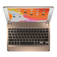 Brydge 10.2 Bluetooth Wireless Keyboard for iPad (7th Gen) - Gold