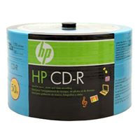 HP CD-R 52x 700 MB/80 Minute Disc 50-Pack Spindle