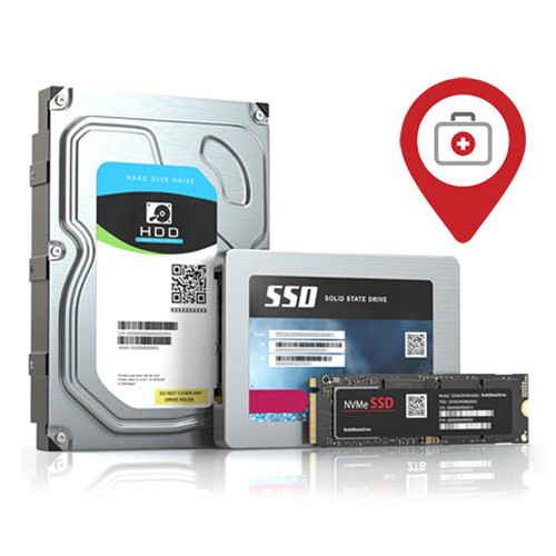 In-store Data Recovery Service 1TB to 3TB