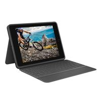 Logitech Rugged Folio Keyboard Case for iPad 7th Gen - Graphite