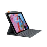 Logitech SLIM FOLIO for iPad 7th Gen - Graphite