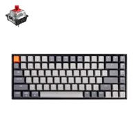 Keychron K2 RGB Keyboard Red Gateron Switch - Black Frame